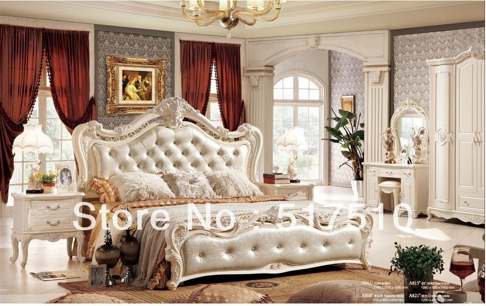 French style bed, white princess bed $752.30 | Betamus | Pinterest ...