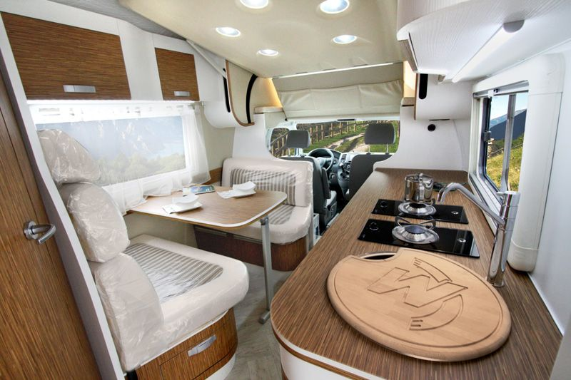 Wingamm Micros Volkswagen Transposter Compact GRP Motorhome With Monocoque  Cabin In Fibreglass Automotive Concept. VW