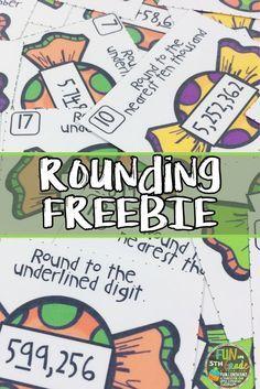 Rounding FREEBIE!!