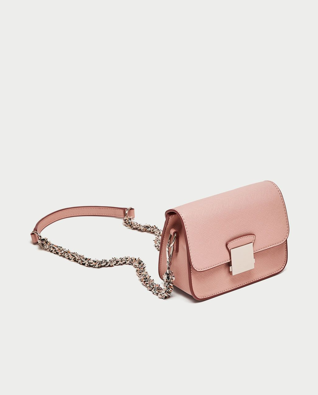 1327a966 Image 1 of CROSSBODY BAG WITH CONTRASTING STRAP from Zara ...