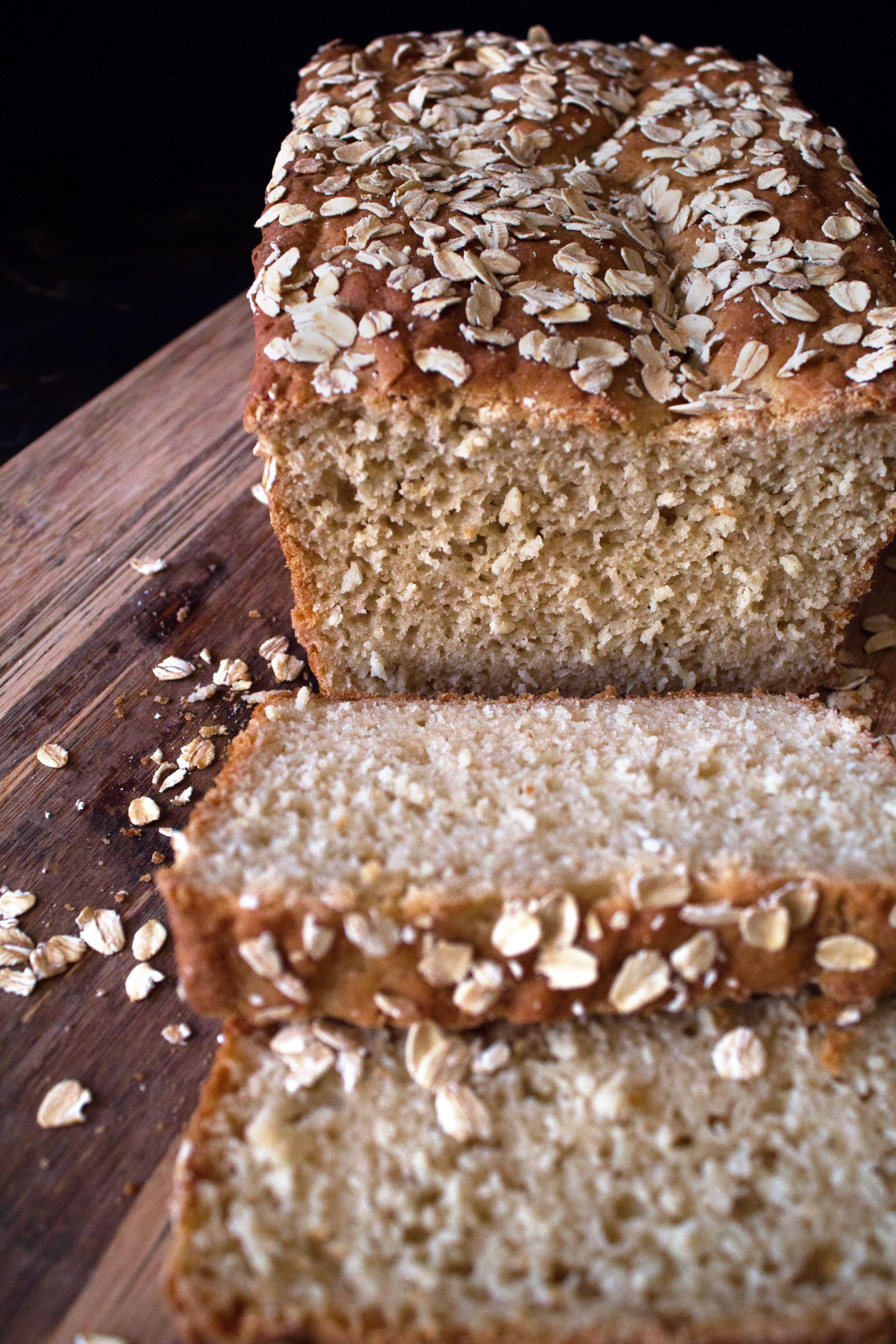 GlutenFree Honey Oat Bread Recipe Gluten free honey