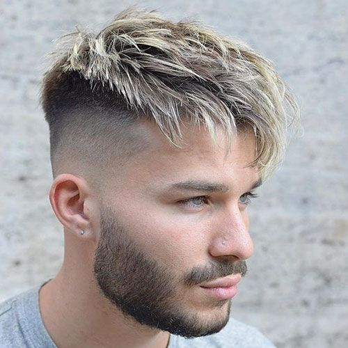 27 Best Hairstyles For Men With Thick Hair Disconnected Undercut Long Fringes And Undercut