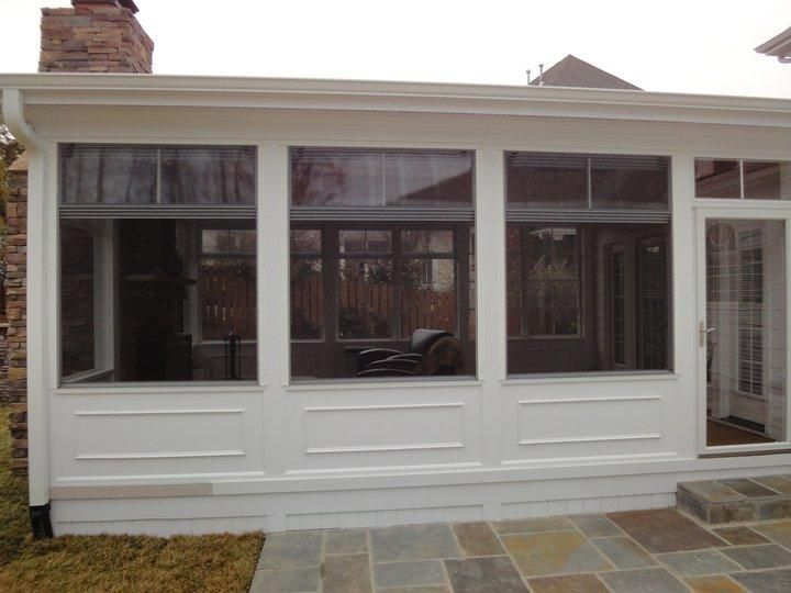 Raleigh Patio Enclosure: Eze Breeze Windows Provided By Raleigh Deck Construction