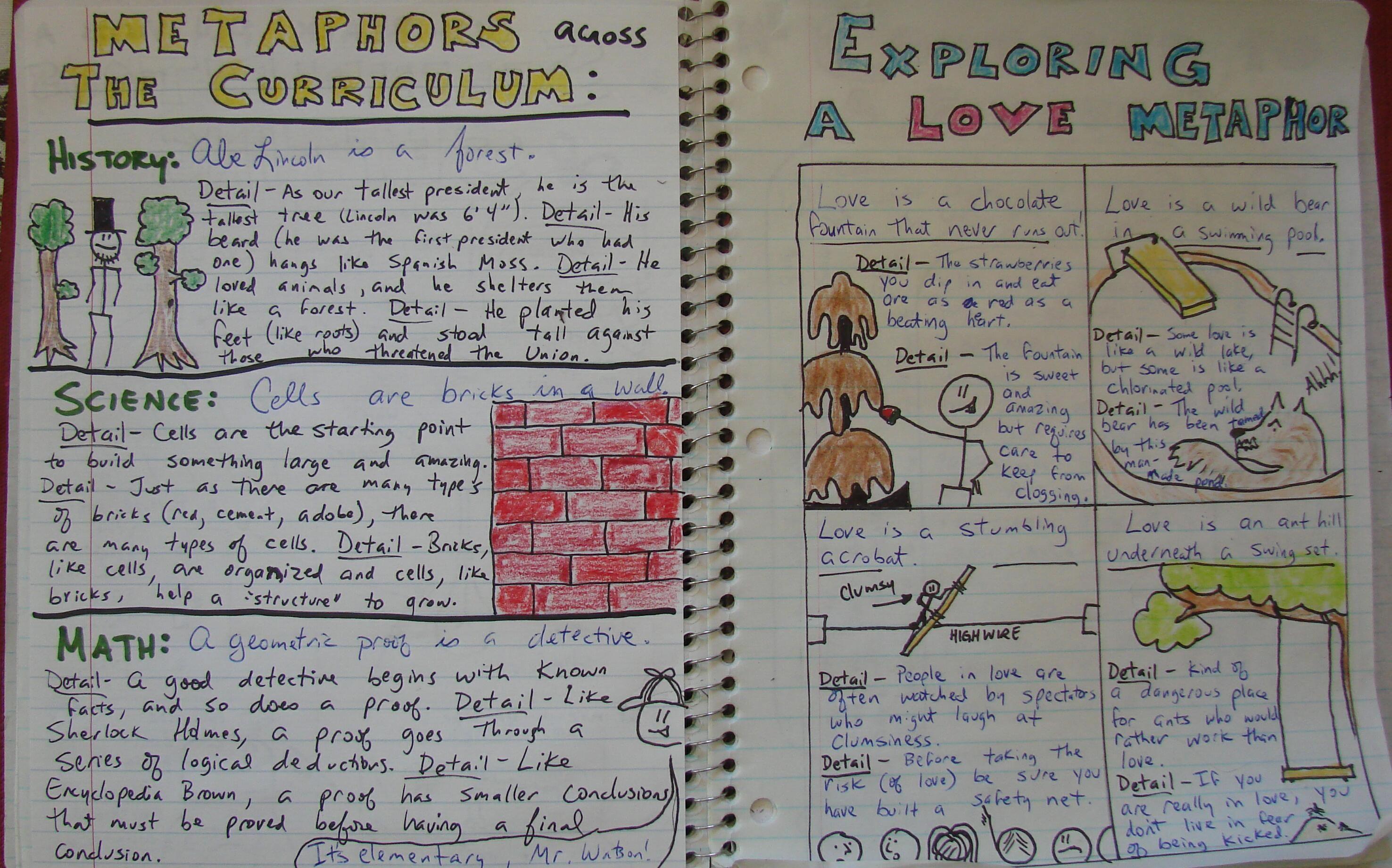 Write Original Writer' Notebook Lesson