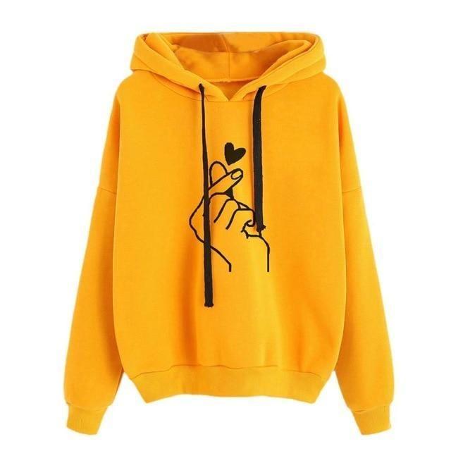 Women Printing Long Sleeve Hoodie Sweatshirt Hooded Pullover Tops Blouse Hoodies Women Sweatshirt Women Women's Clothing