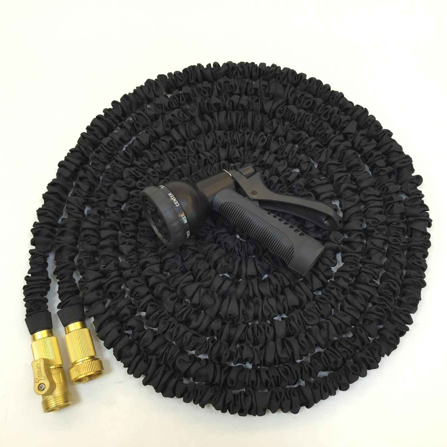 Pin On 50 Ft Expanding Hose Strongest Expandable Garden Hose On The Planet Solid Brass Ends Double Latex