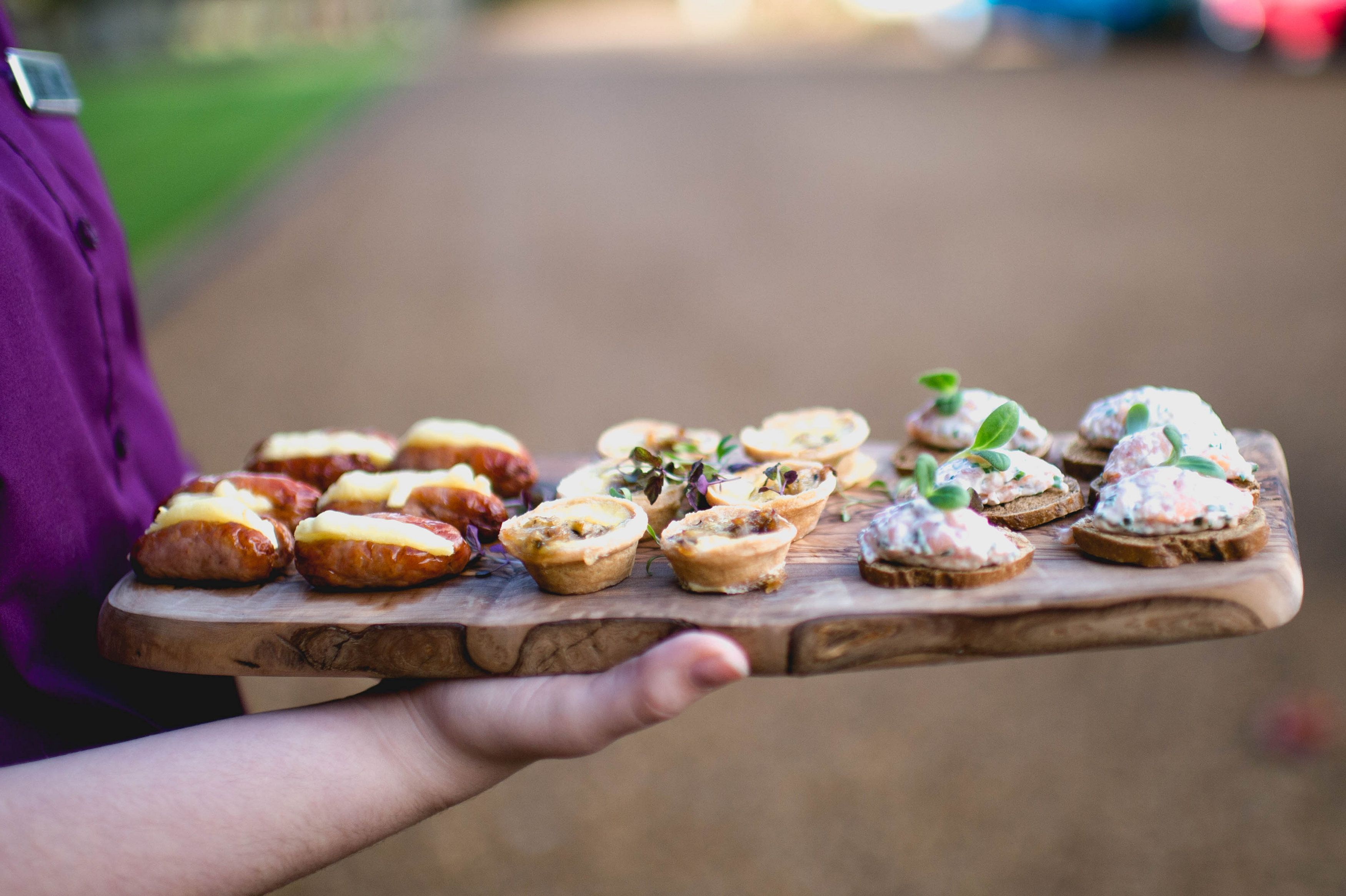 Canapes - We Have A Variety To Choose From