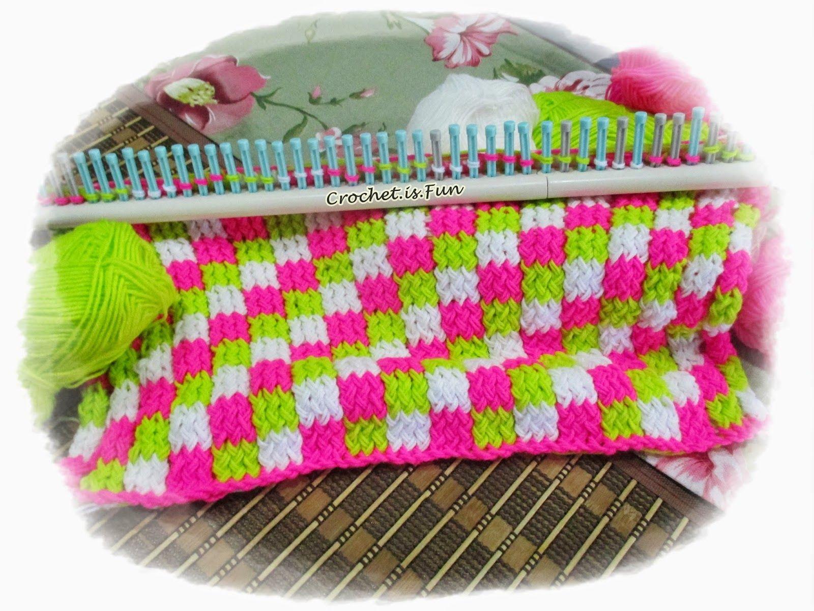 Crochet.is.Fun: Video Tutorial: Loom Knitting | loom | Pinterest ...