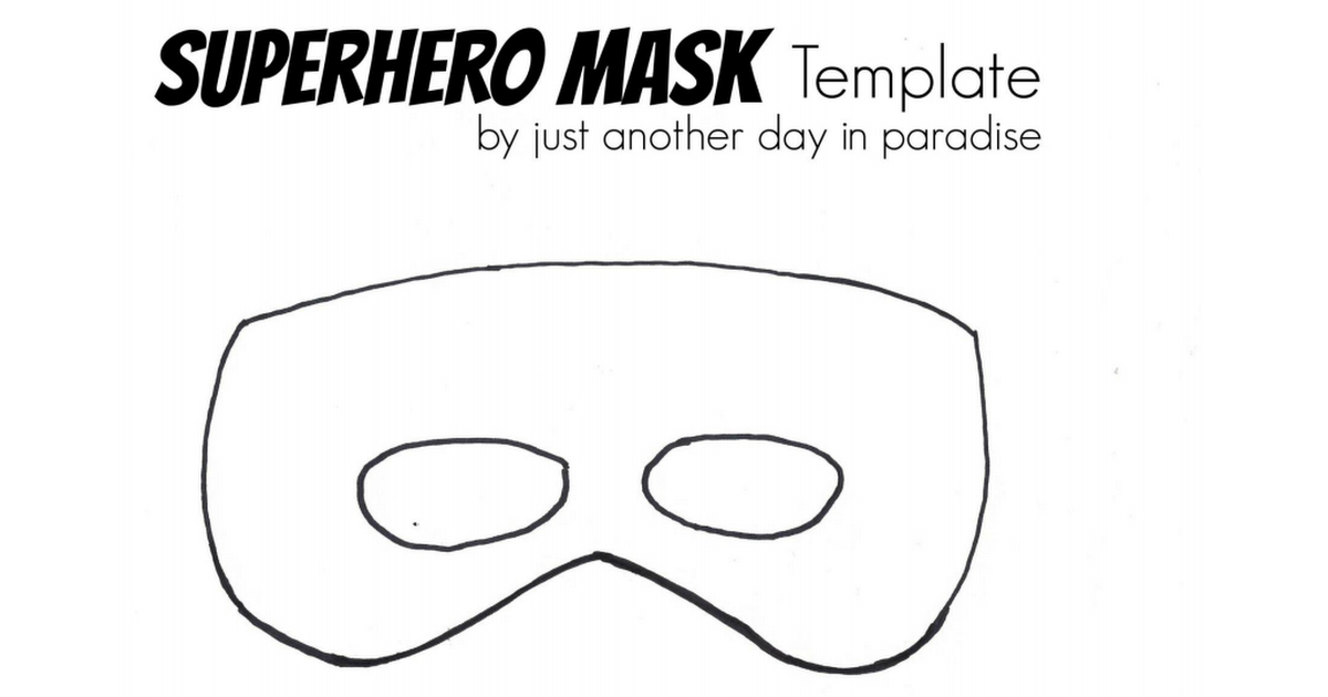 Superhero mask template pdfpdf diy and crafts pinterest mask superhero mask template pdfpdf superhero mask template pdf maxwellsz