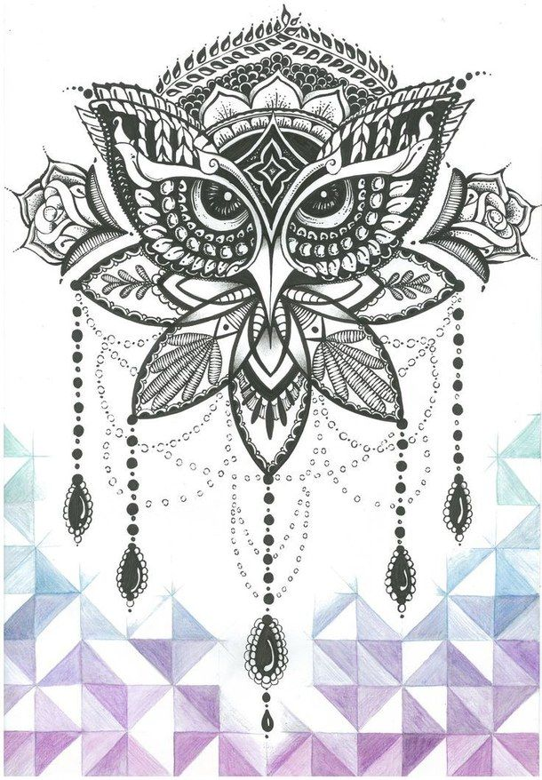 background, mandala, vintage, wallpaper, watercolor | Art ...