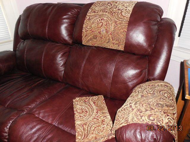Custom Made Chair Headrest Amp Arm Covers Available Www