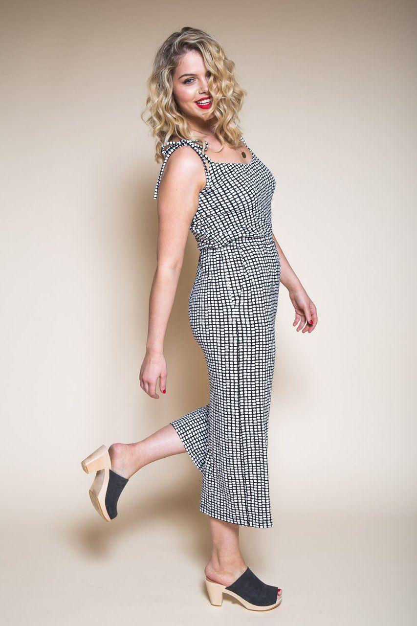 Sallie maxidress u jumpsuit pattern dress patterns maxi dresses