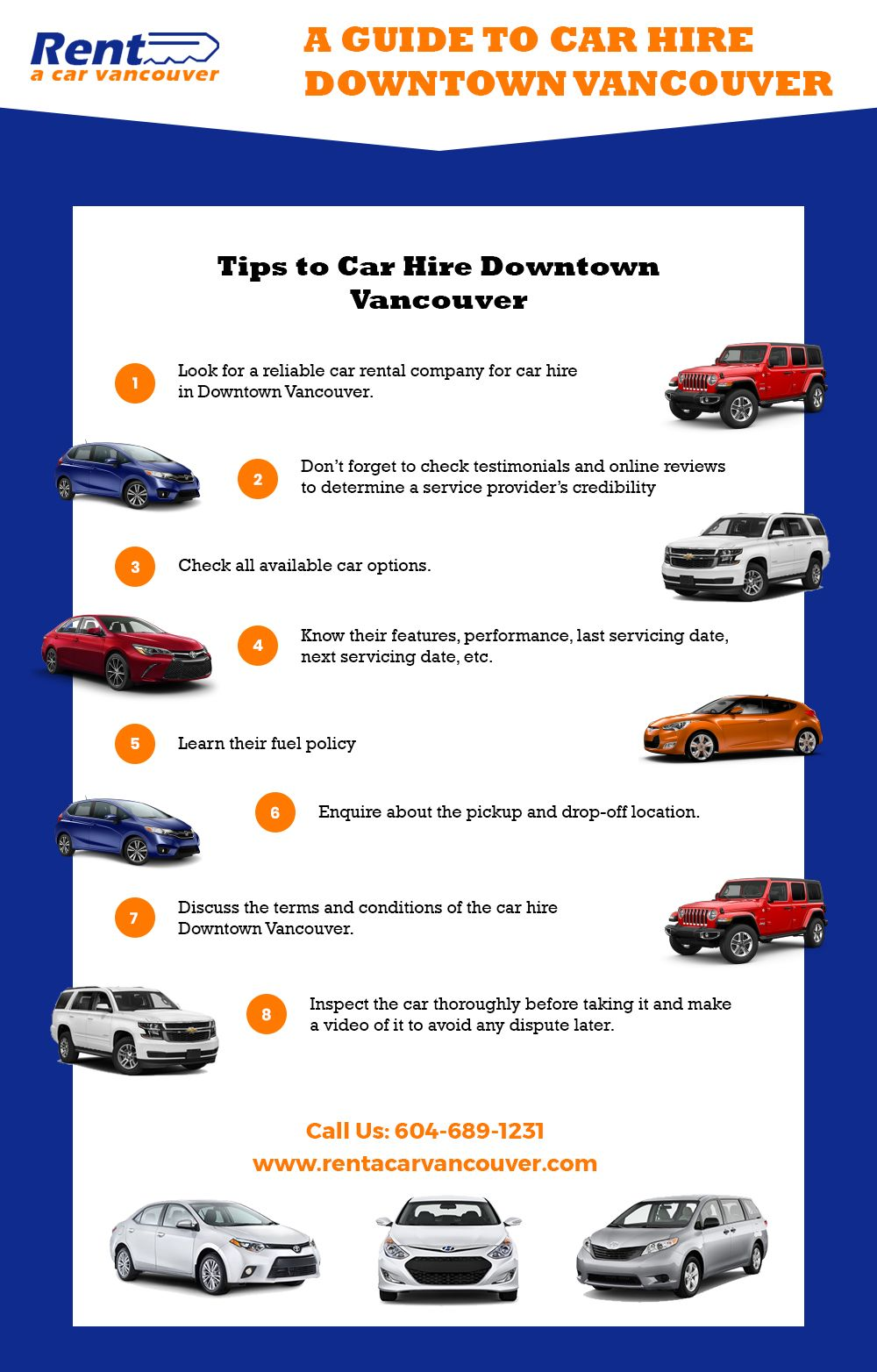 Here Are Some Useful Tips For You To Car Hire In Downtown
