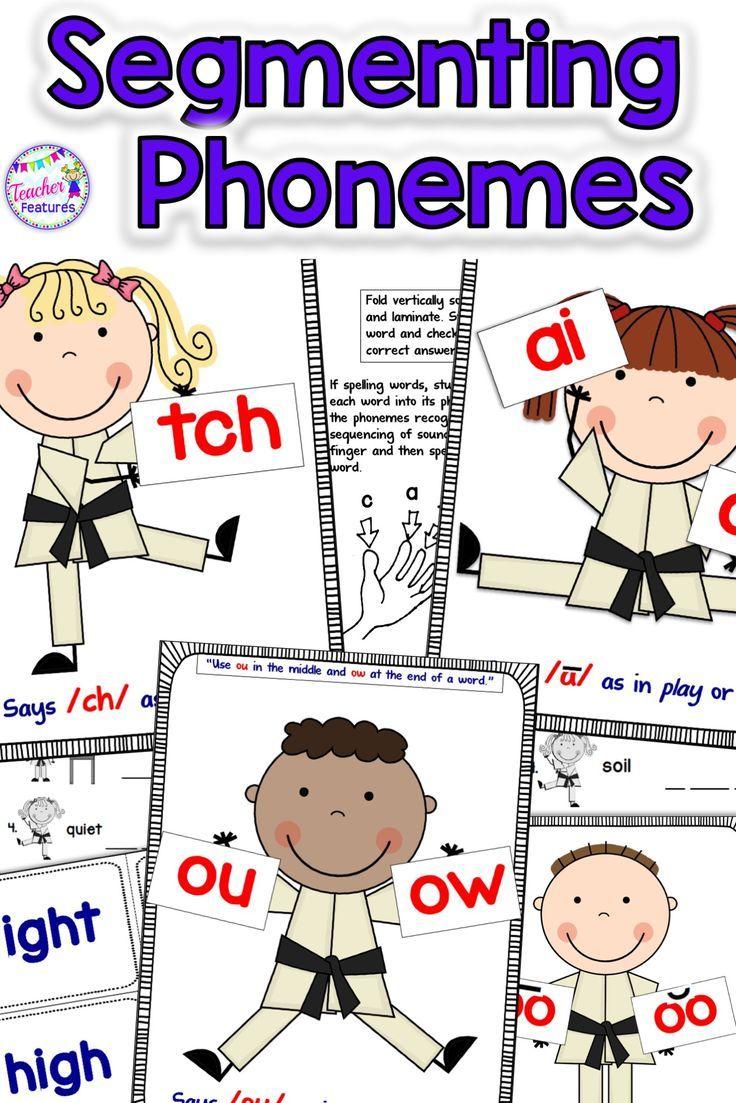 Phonemic Awareness Activities Phoneme Segmentation