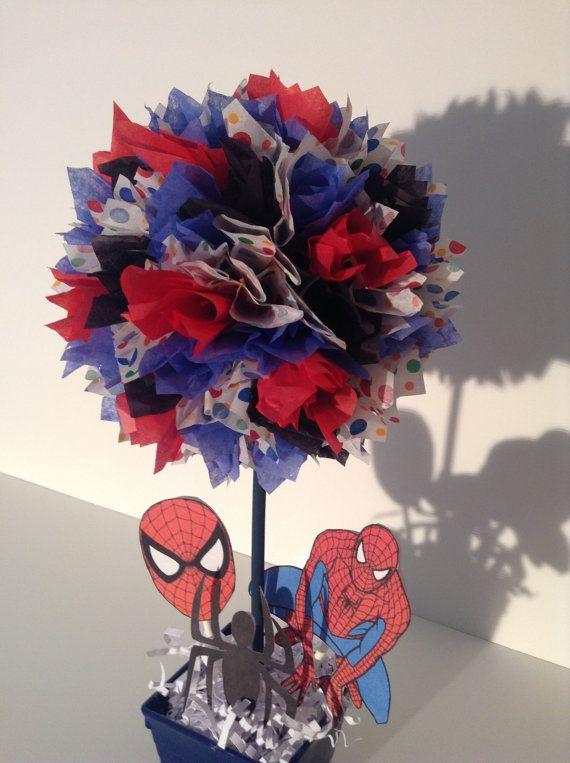 Spiderman Birthday party Decoration, centerpiece, Spider-Man, decorations