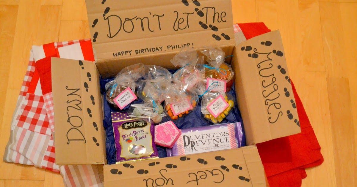 Harry Potter Care Paket Geschenk Beste Freundin Geschenke Diy