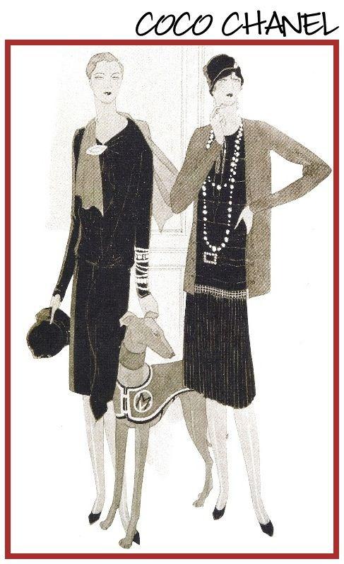 Coco Chanel Figurines Pinterest Moda Chanel Y Moda Vintage