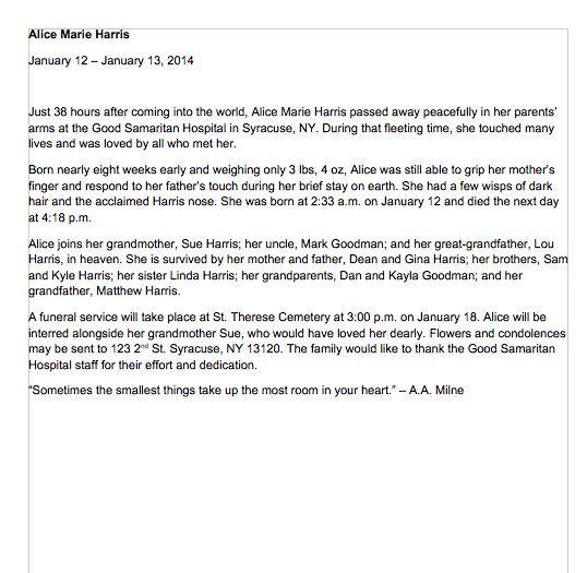 Obituary Samples Word 02 MARK Pinterest - free obituary template
