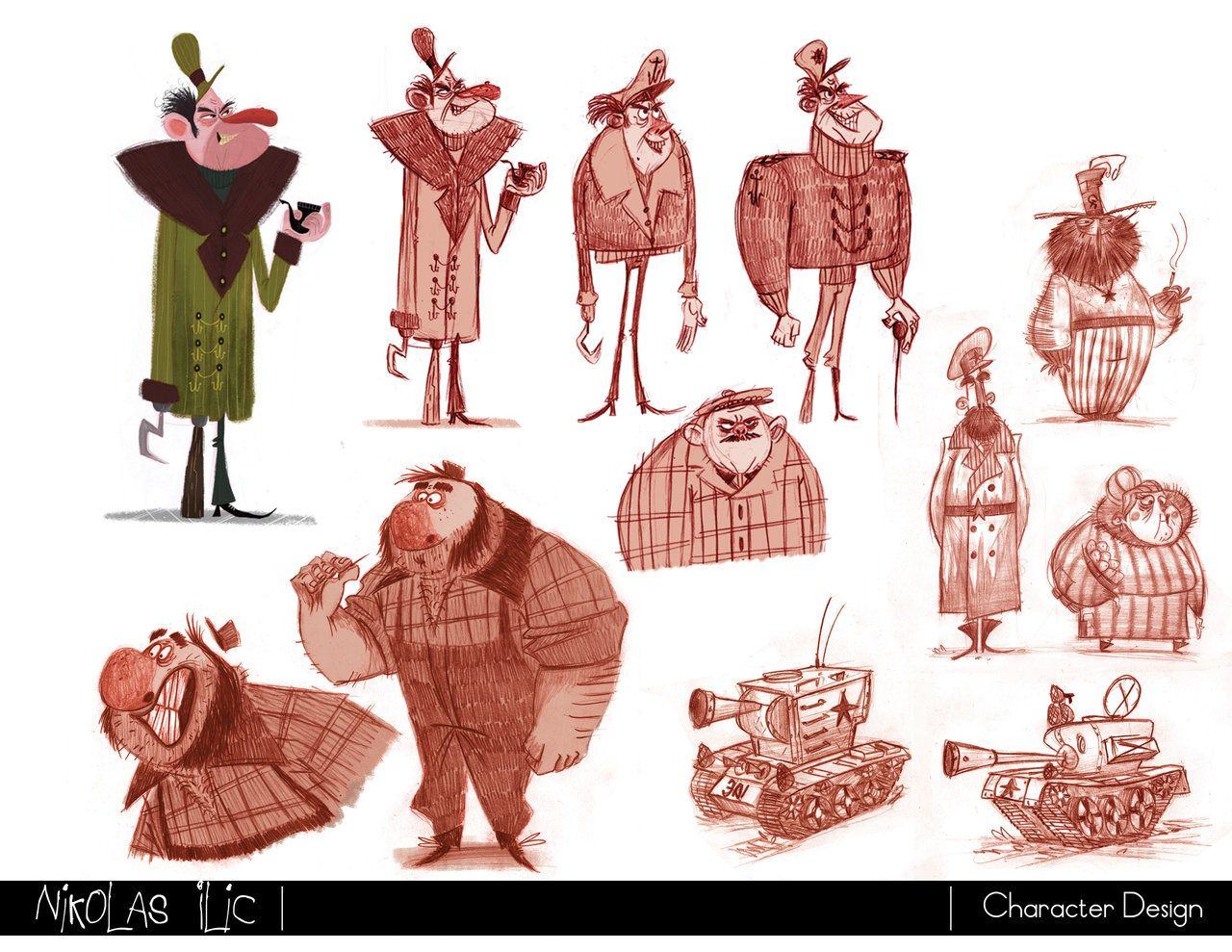Nikolas Ilic: Designer / Visual Development Artist | Character ...