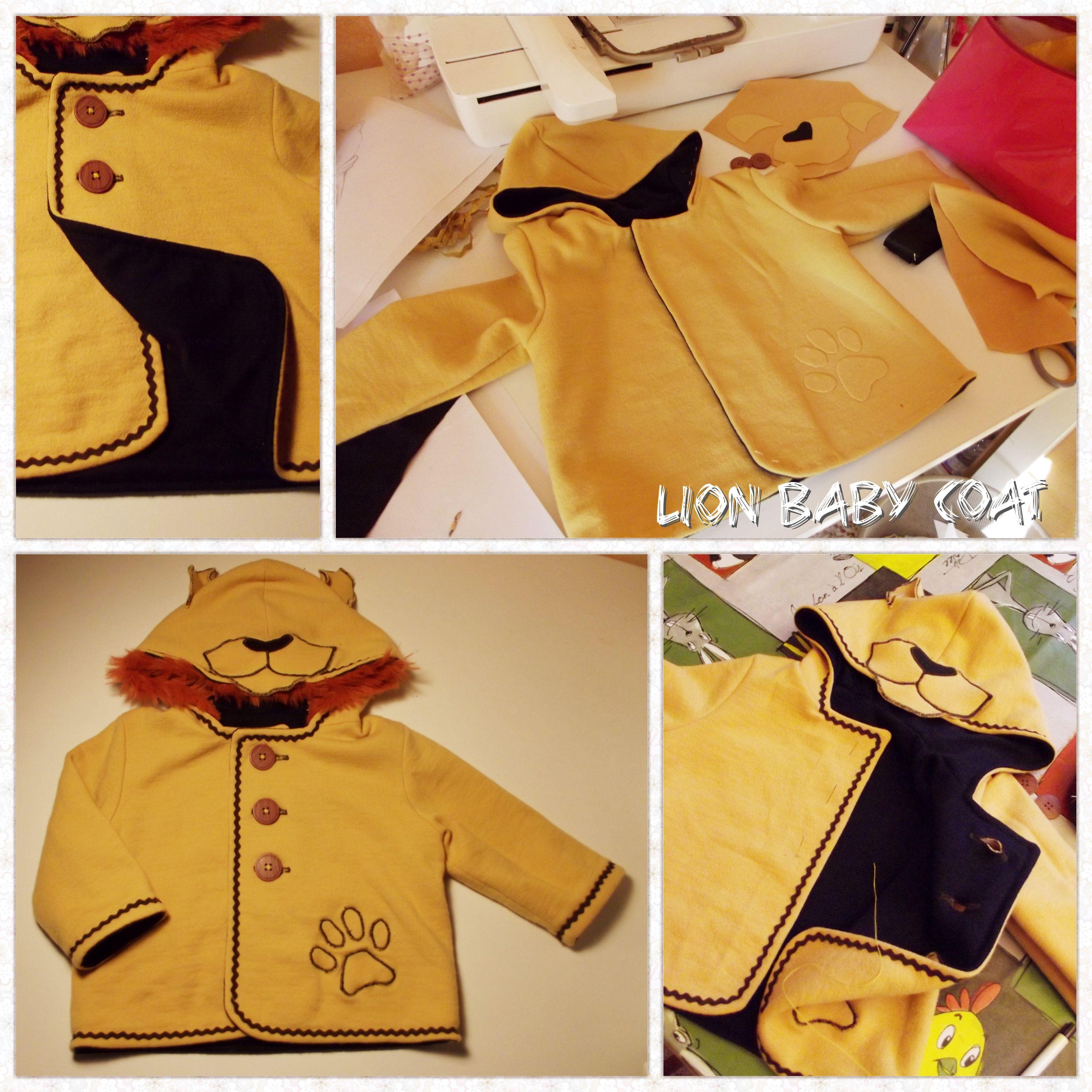 lion baby coat