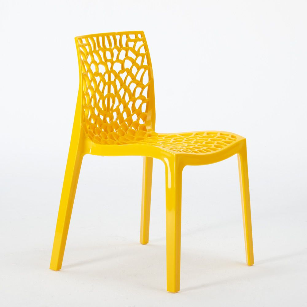 Polypropylene Design Chair Made In Italy For The Kitchen Restaurant Gruvyer Chaise Fauteuil Chaise Salle A Manger