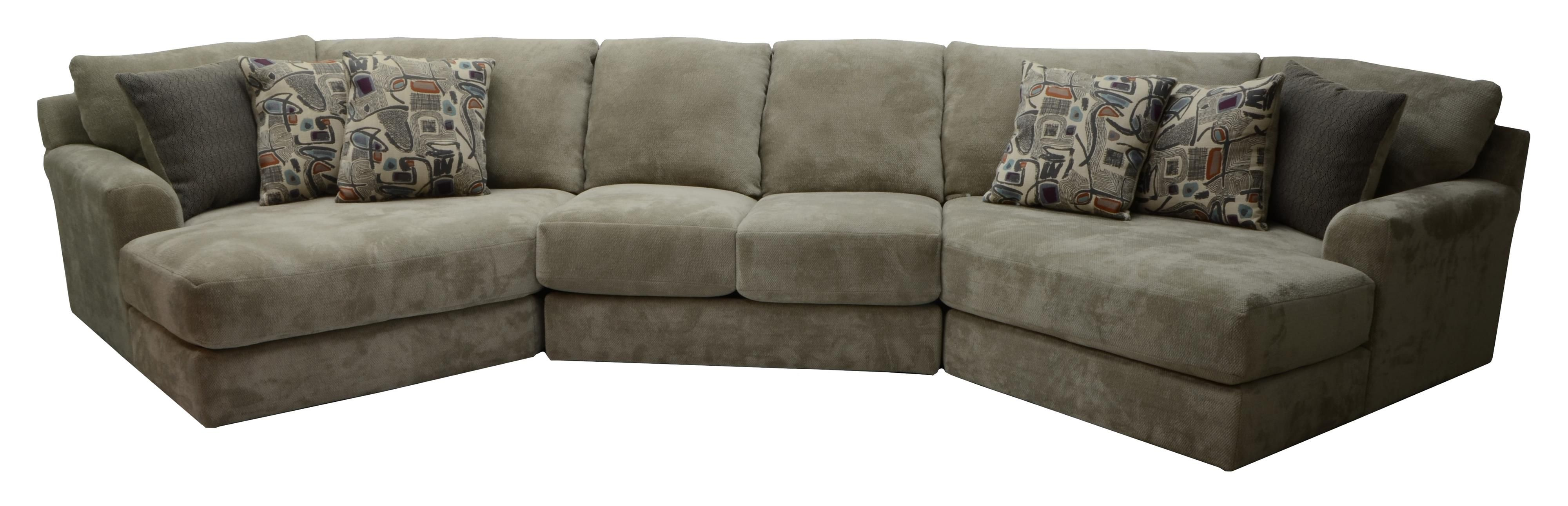 Malibu Four Seat Sectional Sofa By Jackson Furniture For