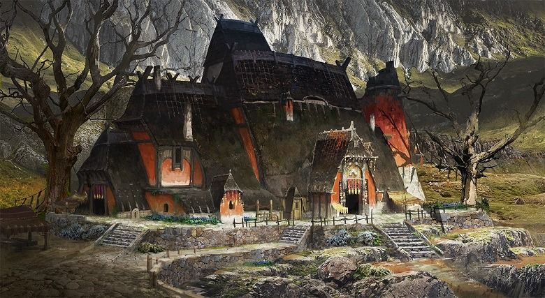 House in the mountain by ast ralf