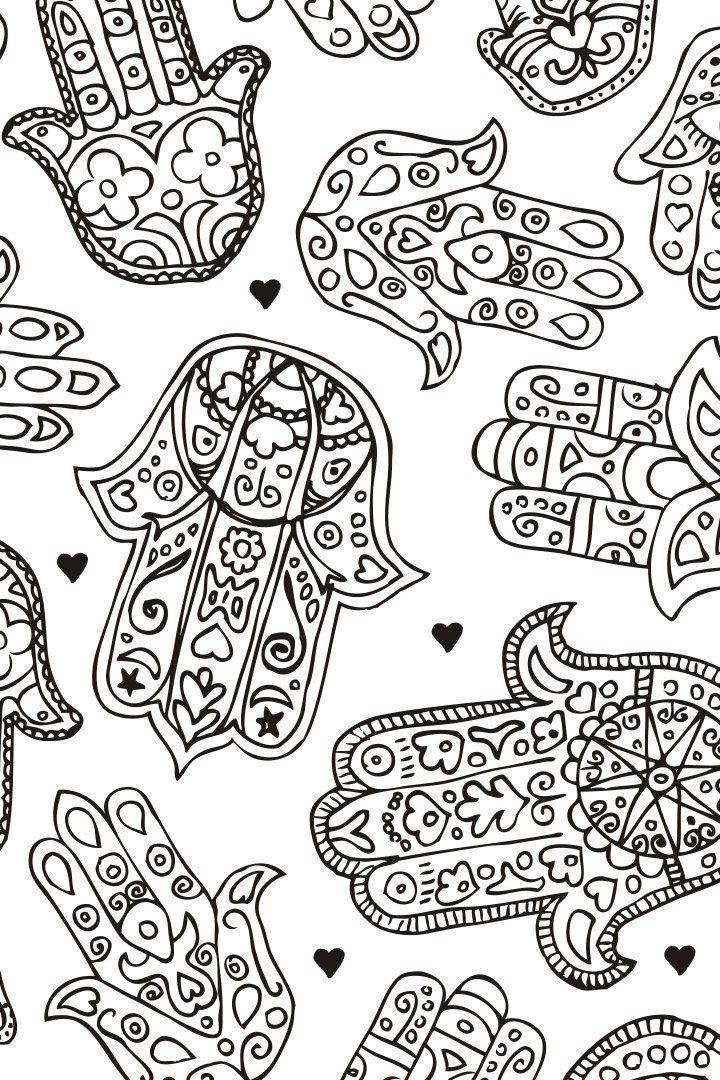 Mandala descargable para colorear 4 | Ilustrar | Pinterest