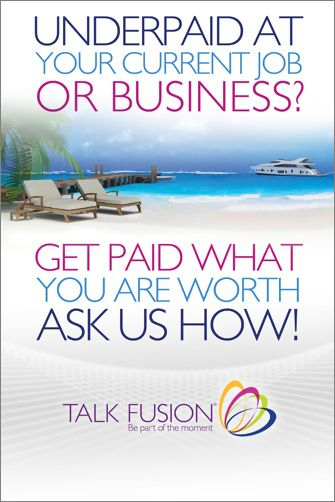 Underpaid At Your Current Job Or Business? Get Paid What You Are Worth! Ask Us How!