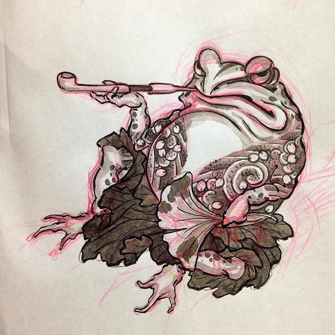 Makoto horimatsu tattoos pinterest tattoo frogs and for Oriental tattoo