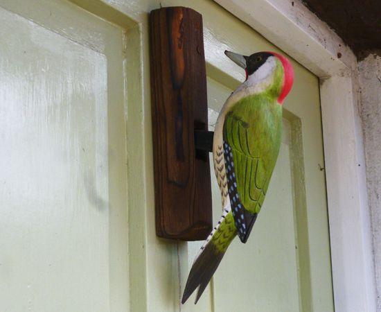 Woodpecker Door Knocker Polkerris Diy Door Knockers