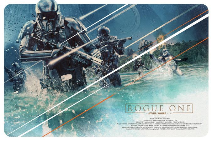 Star Wars: Rogue One by Rich Davies