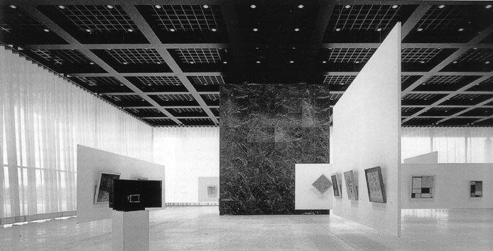 german national gallery berlin kulturforum mies van der rohe 1962 68 ludwig mies van der. Black Bedroom Furniture Sets. Home Design Ideas