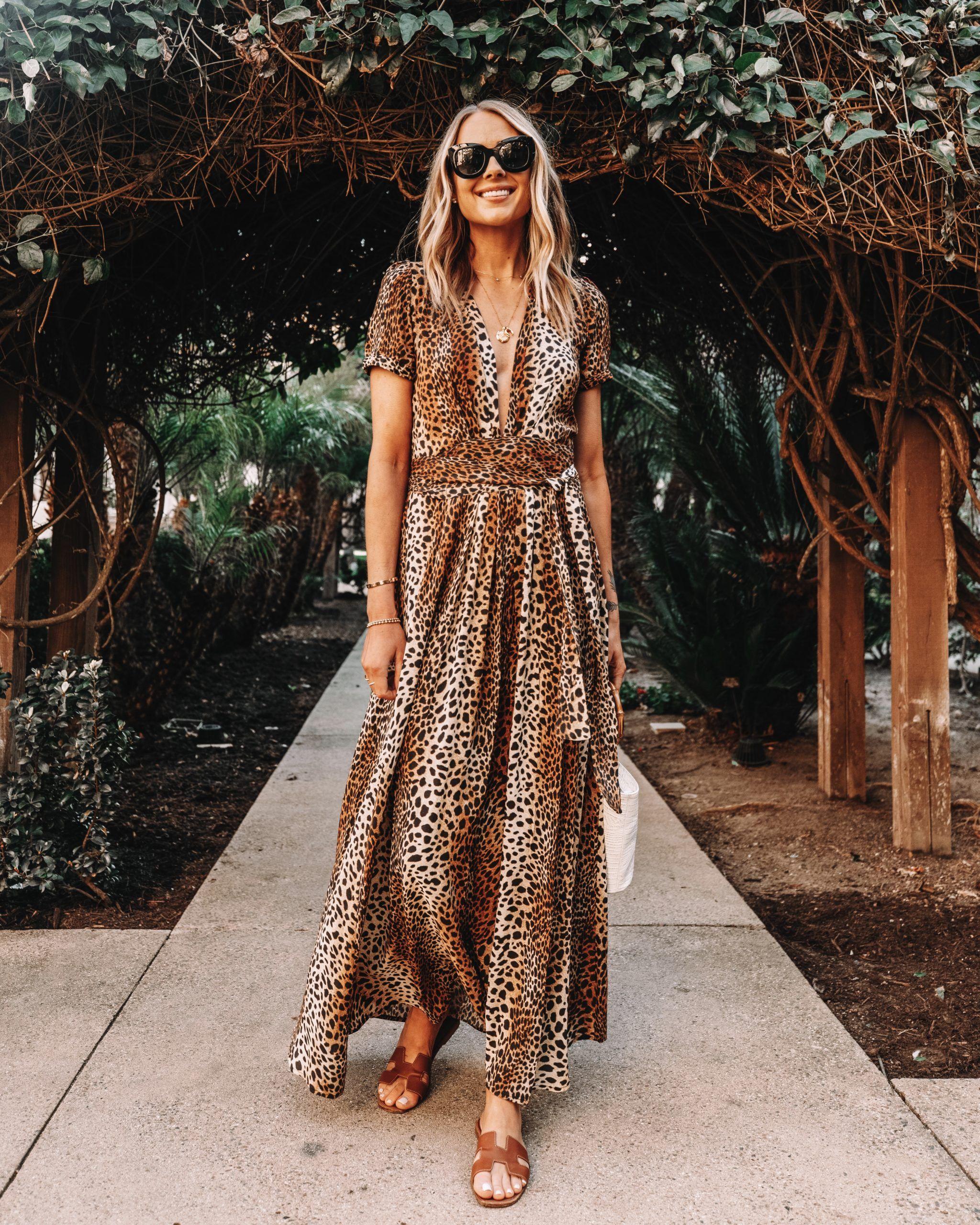 Leopard Dress Vacation Outfit Beach Dress Beach Outfit Summer Dress Summer Outfit Shopbop Leopard Maxi Dress Fashion Jackson Fashion [ 2560 x 2048 Pixel ]