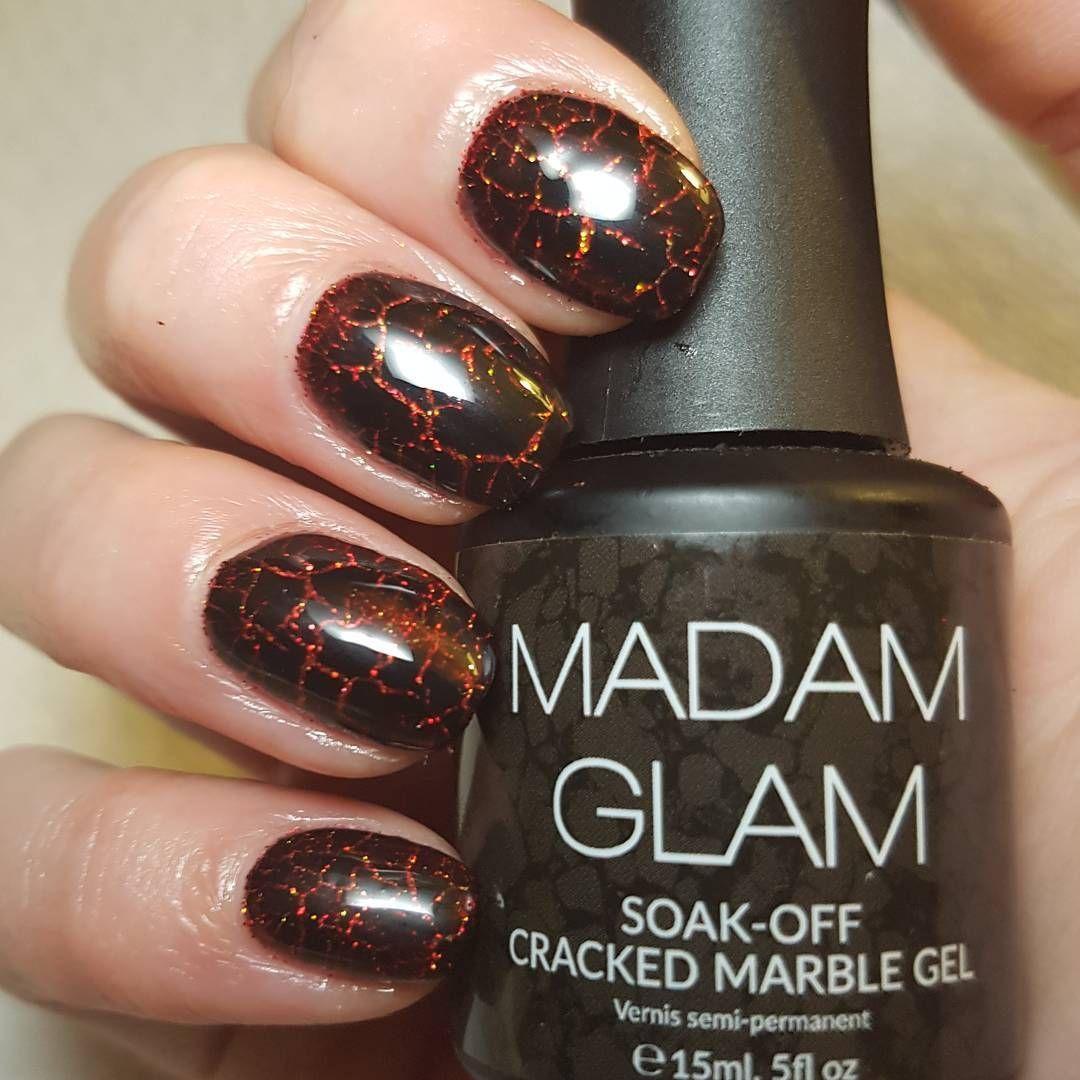 Madam Glam Releases Cracked Marble Gel Polish - Nailpro | Nail Art ...