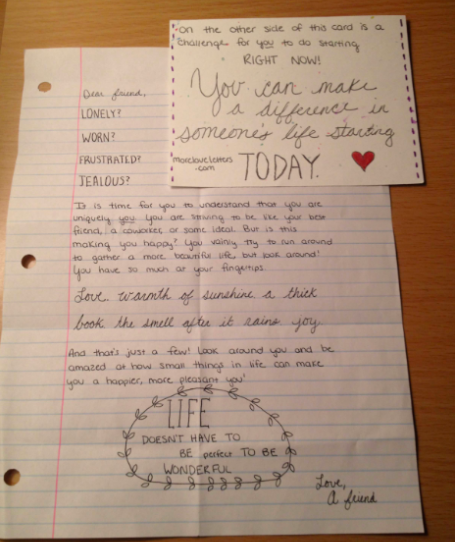The world needs More Love Letters ChloeHenderson