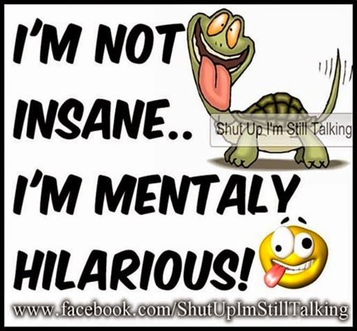 Funny Quotes About Crazy: Crazy Picture Quotes And Funny Sayings