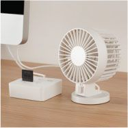 New Item Usb Desk Fan Connect To A Port And Feel The
