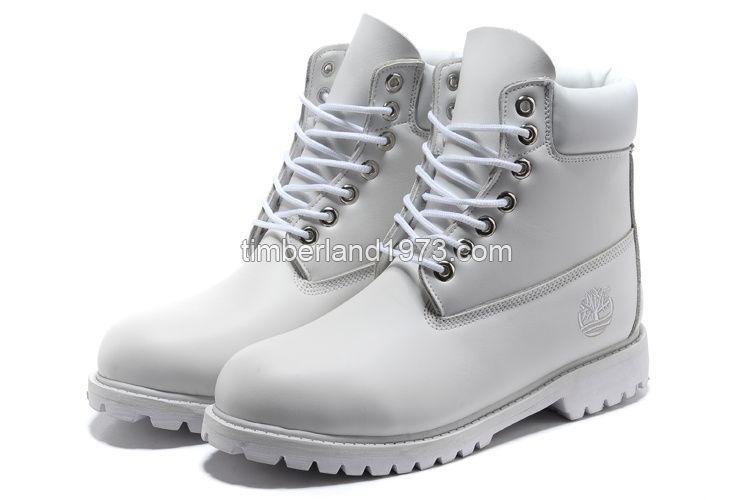 timberland men's 6-inch premium waterproof boots all white