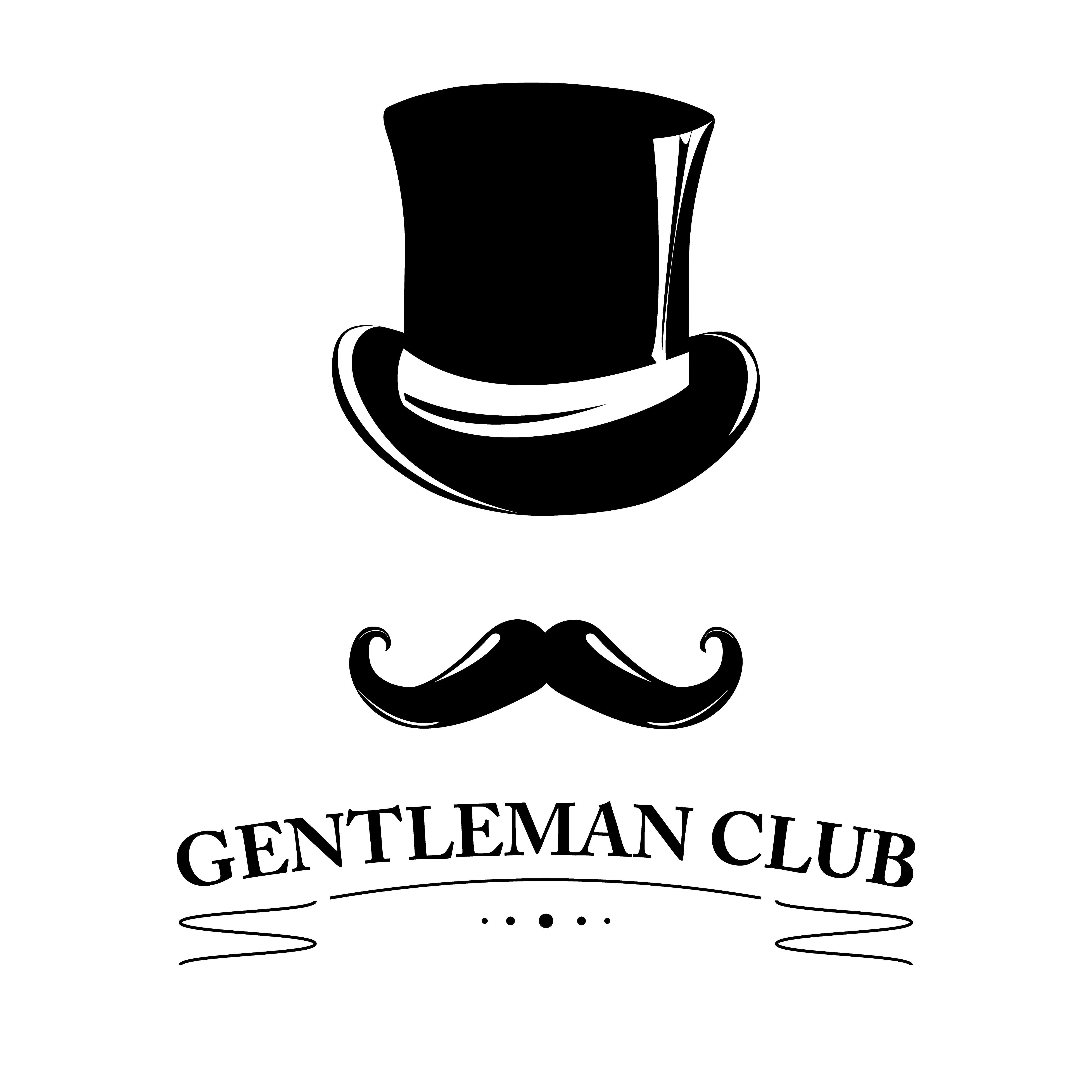 d6038c18882 Vintage gentlemen elegance logo. Gentleman  gentlemen  hat  bowler  derby   top