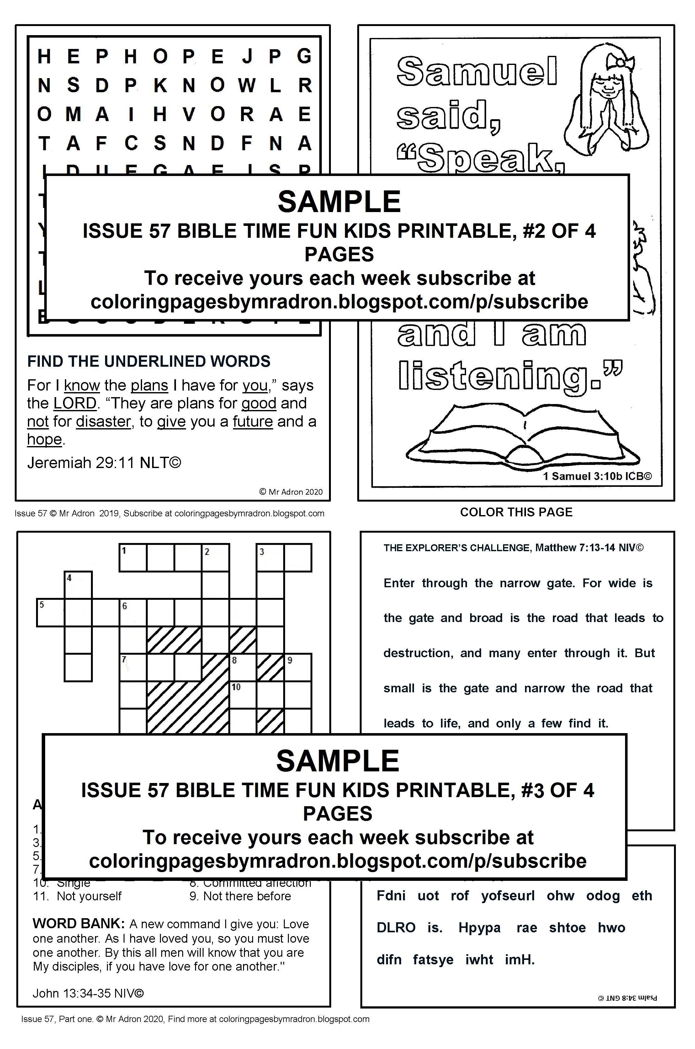 Pin On Bible Fun Activity Printables For Kids Children bible activities worksheets