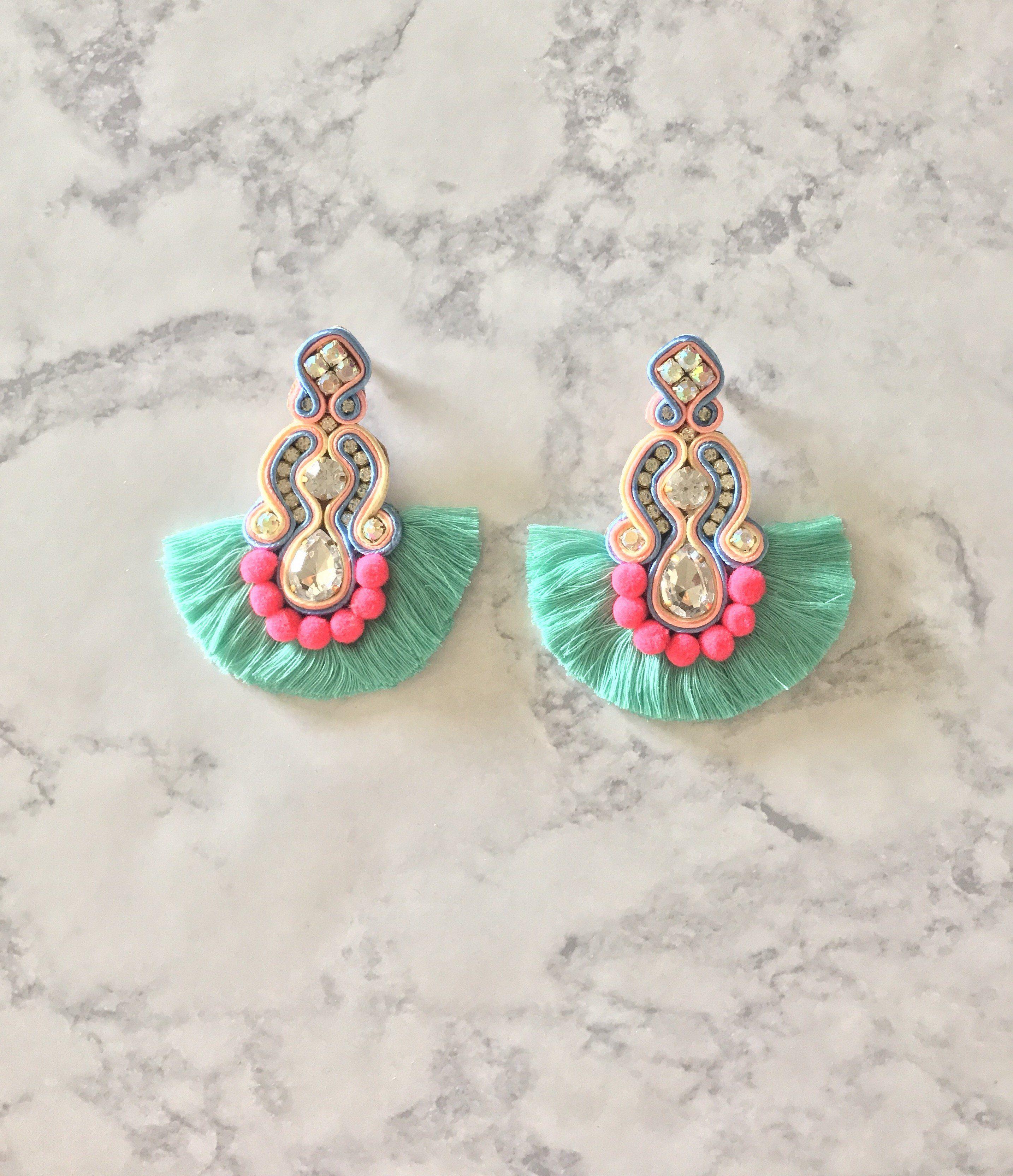Corona u lime earrings corona and products