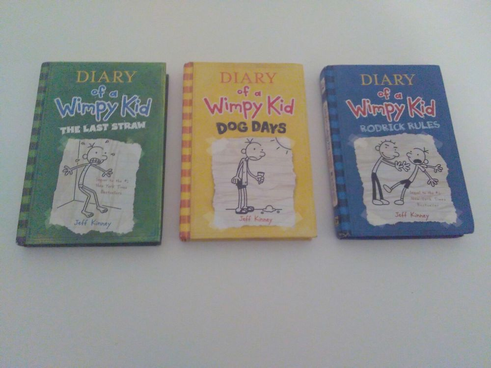 Diary Of A Wimpy Kid Rodrick Rules The Last Straw Dog Days By Kinney Jeff Wimpy Kid Jeff Kinney Wimpy