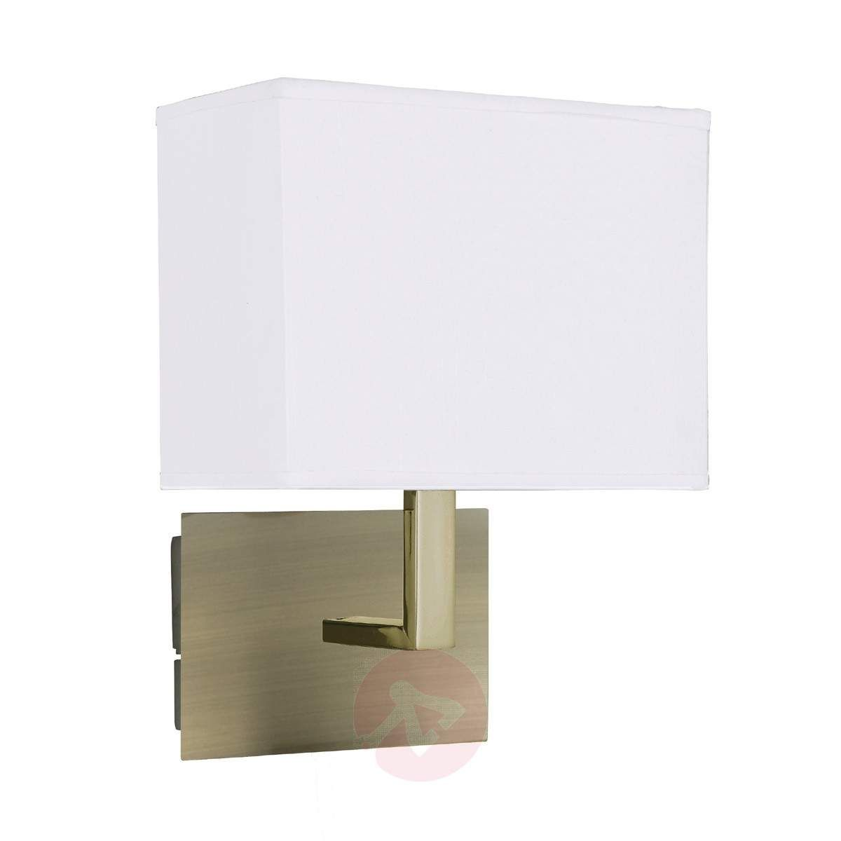 Applique Dario Avec Abat Jour Tissu De Searchlight Abat Jour Lampe Plafonnier Et Luminaire Applique Murale