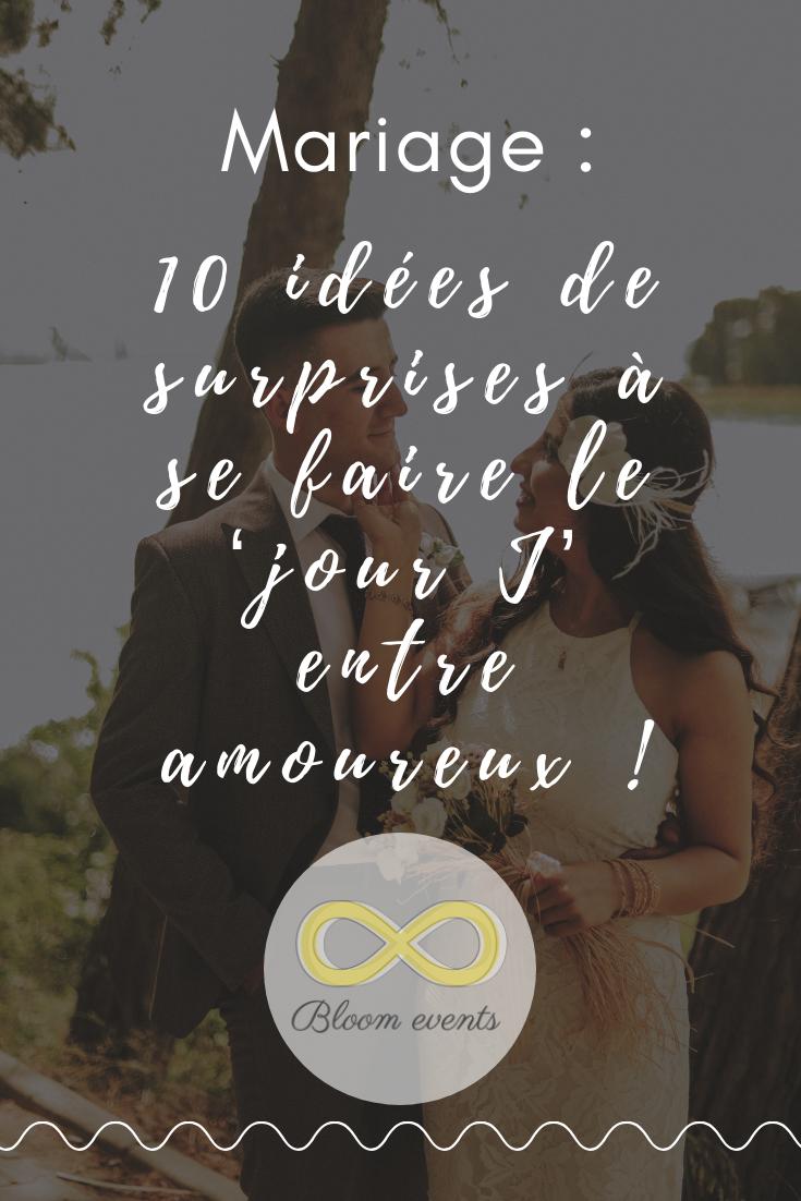 Photo of 10 idées de surprises à se faire le 'jour J' entre amoureux !