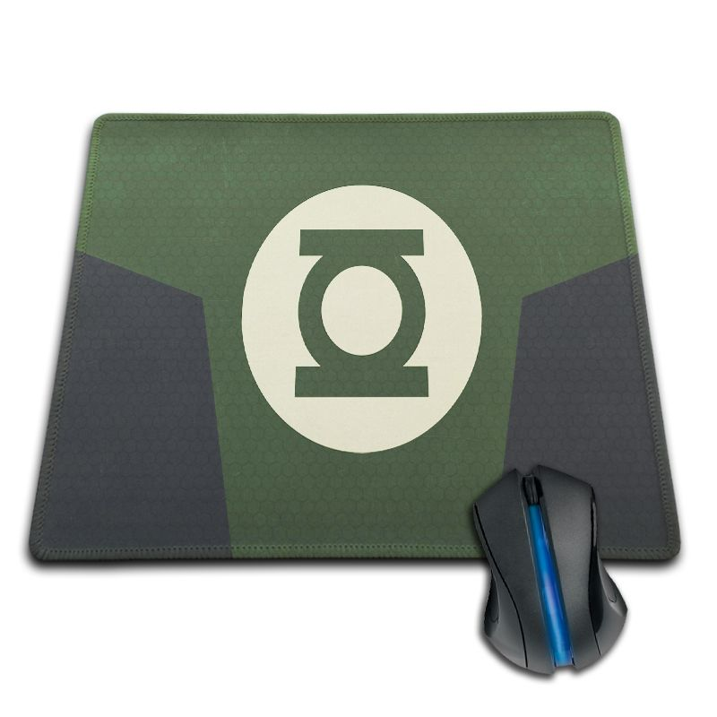Gaming Mouse Pad Hot Sale DC Comics Green Lantern Anti-slip Rubber Mouse Pad for Gamer Optical Laser Mice Mouse Mat