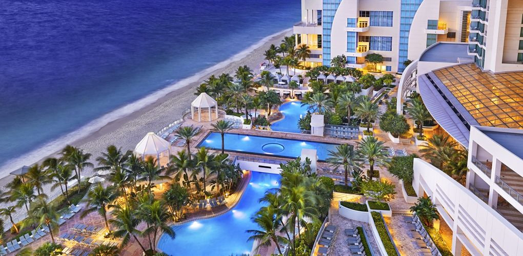 Diplomat Resort And Spa Hilton Hotel Hollywood Florida Near Ft Myers Sanibel