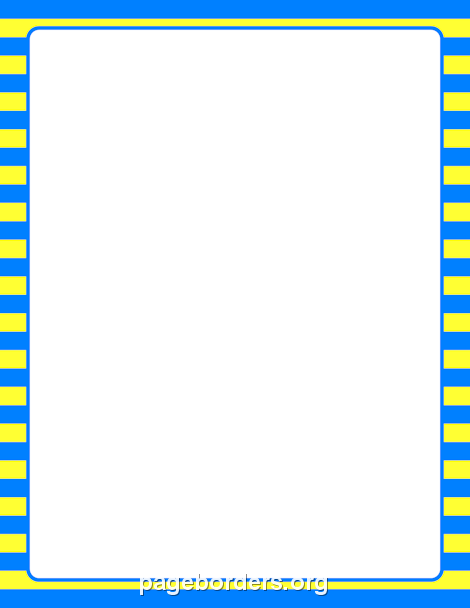 blue and yellow striped border clip art page border and vector graphics page borders clip art page borders design blue and yellow striped border clip