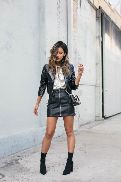 Find Out Where To Get The Skirt | Ankle boots, Boots and Black ...