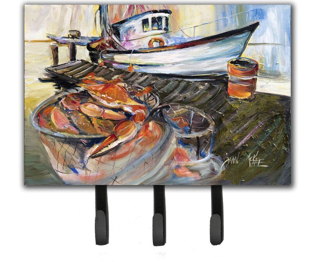 Blue Crab Trap Leash or Key Holder JMK1104TH68